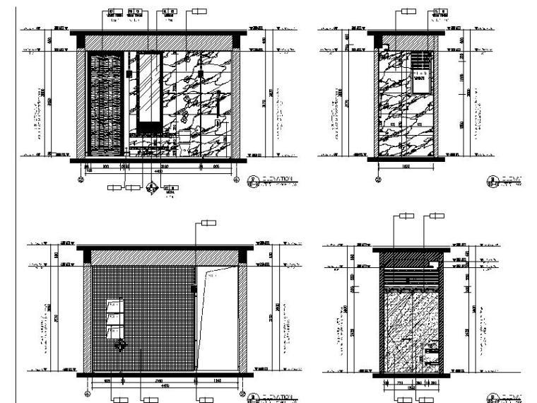 [海口]复古奢华低层别墅样板间室内设计施工图(含软装方案)_6