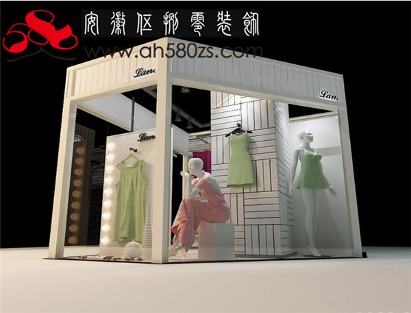 合肥甜美风格女装店铺设计地下女装商铺装修