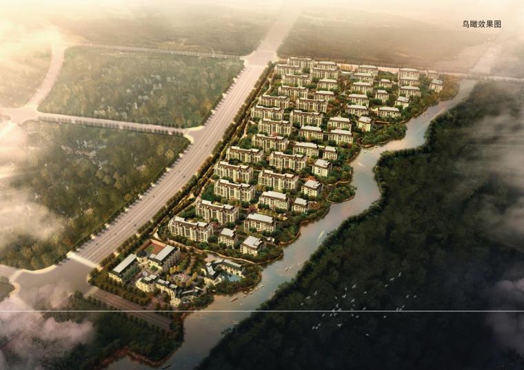 [上海]围合式古典风格公寓式住宅建筑设计方案文本