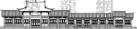 某古建筑立面图设计方案