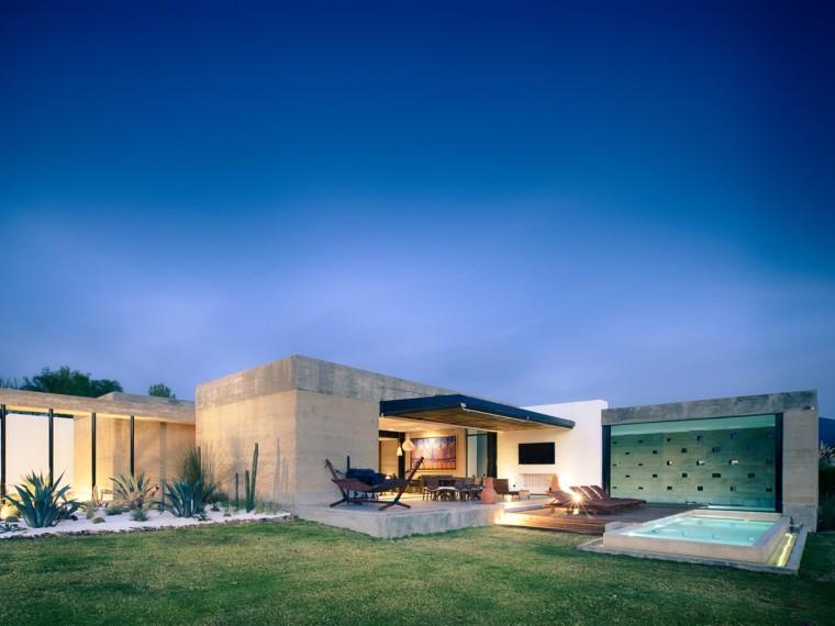 墨西哥夯土住宅