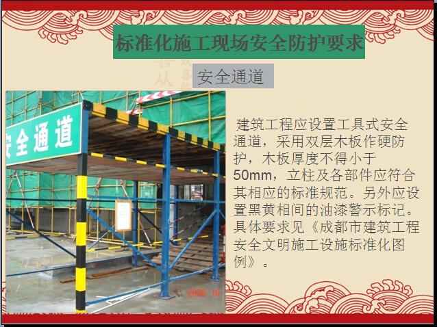 [四川]建筑工程标化工地创建流程(图文并茂)