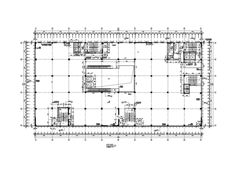 [昆明]商业广场全套施工图(建筑结构水暖电)