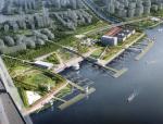 """[上海]""""海绵城市""""滨江自然连通性生态走廊景观带设计方案"""