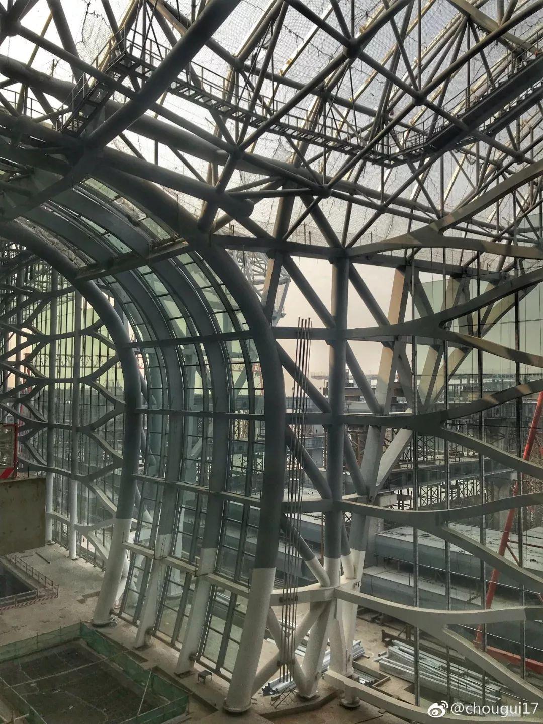 """中国最""""魔幻""""的北京大兴国际机场试飞了!黑科技满满…_29"""
