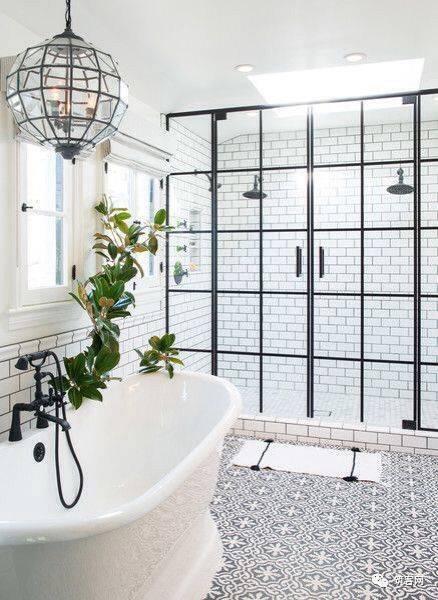 35个干湿分离式卫生间设计方案