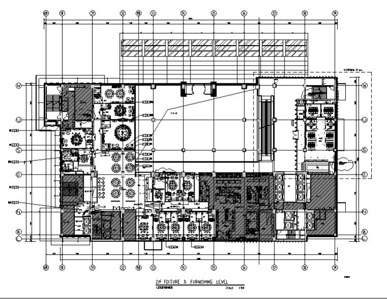 36000平米商务酒店设计施工图(附效果图+材料表)_1