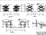 [云南]仿古廊桥建筑设计施工图