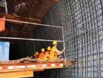 鞍山市自由东街隧道项目施工如火如荼
