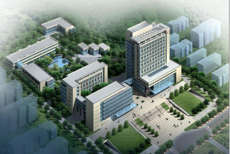 [江苏]某中医院建筑方案设计文本jpg(41页)