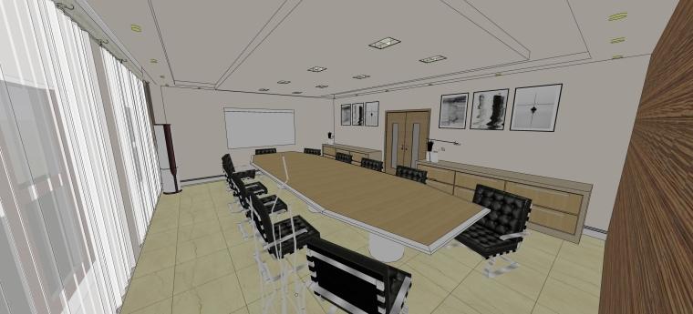 调度办公楼室内设计