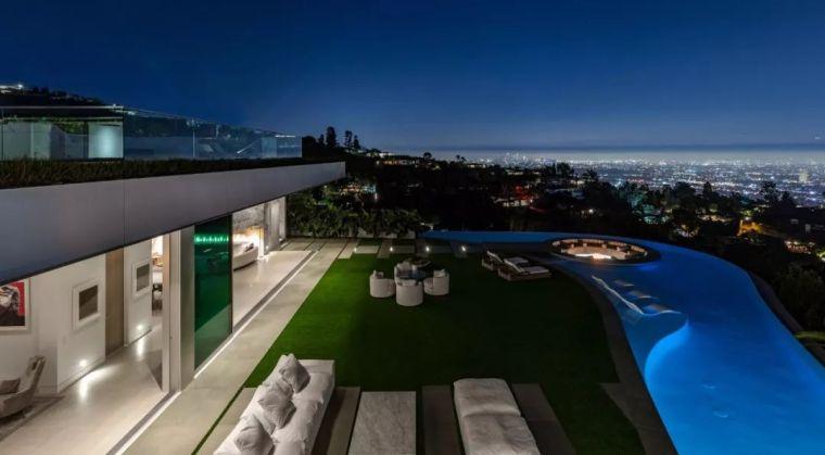 3.98亿的超级山顶豪宅,无比奢侈的观景台_22