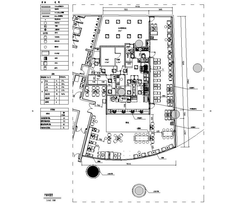 汉堡王成都华置广场店施工图&效果图&预算&结算&设计相关