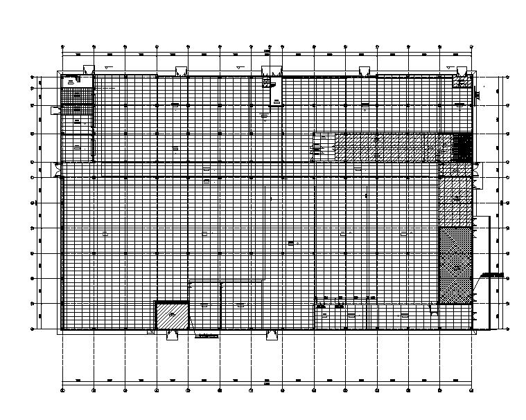 成都晶体硅太阳能电池项目暖通施工图(洁净、工艺排风)