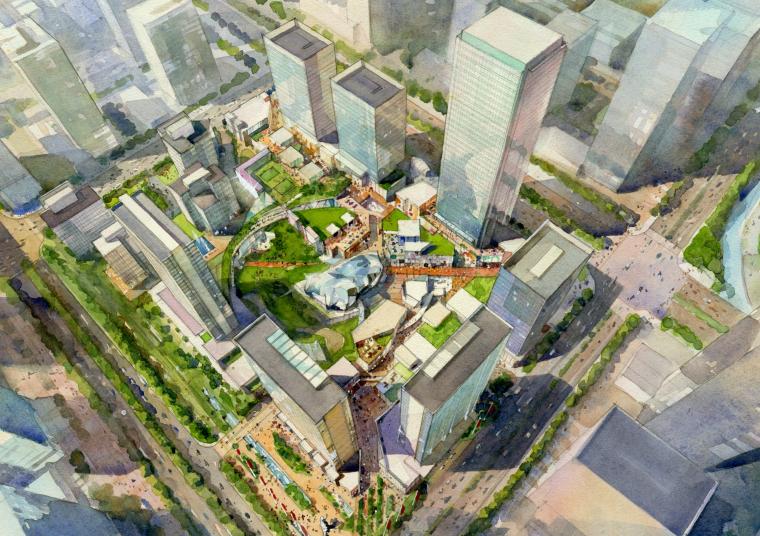 [广东]广州绿地中央广场城市综合体设计方案文本(PDF)