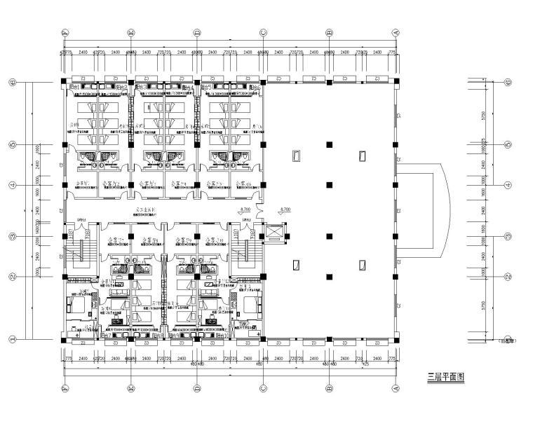 [浙江]宁波可人集团办公大楼室内装修施工图+效果图