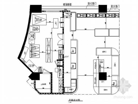 [北京]市中心现代风格面包店室内装修施工图