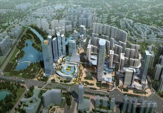 [成都]现代风格超高层甲级塔楼式办公楼建筑设计方案文本
