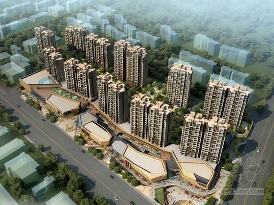 [江苏]现代风格高层住宅区规划设计方案文本(含CAD)