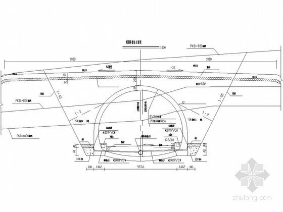 隧道防排水设计节点图