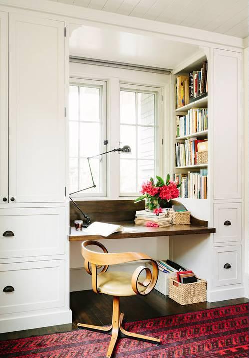 室内设计|N款工作间与书桌,看一眼就为之着迷!_3