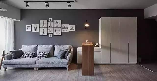 室内装修|客厅太抢眼,电视机竟然还能这样装!_4
