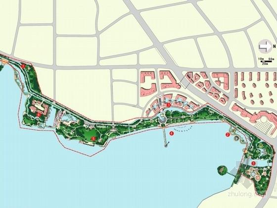 [南昌]青山湖沿线景观整治方案设计(附CAD底图)