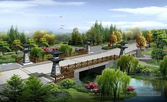 [山东]2015年景观桥工程预算书(含图纸)
