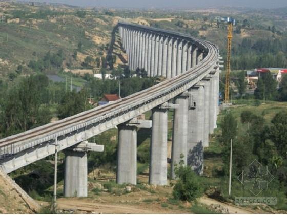 U型槽钢筋构造图资料下载-时速350公里高速铁路桥梁下部构造通用图956张