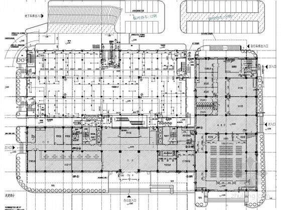 [江苏]多层办公大楼扩建工程给排水消防施工图(甲级设计院 15年最新设计)