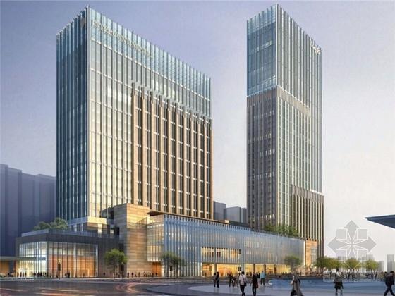 [浙江]现代风格超高层办公楼综合体设计方案文本