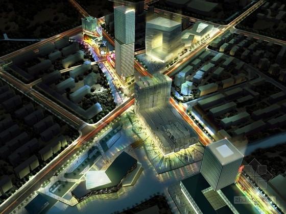 [浙江]现代风格国际商业广场建筑设计方案文本