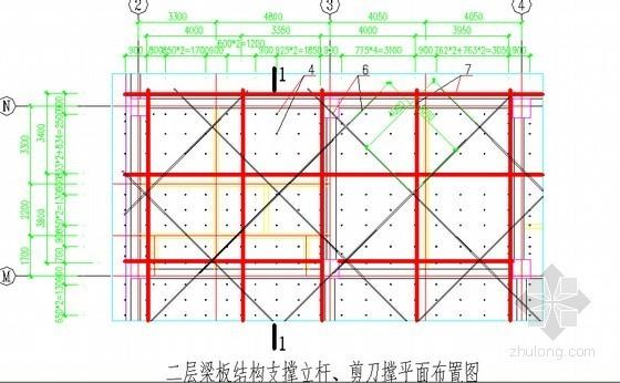 [四川]框架结构规划展示中心工程高大支模专项施工方案(114页 附详图)