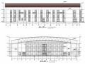 [非洲]三层框架结构室内体育馆结构施工图(含建筑图 中国承建)