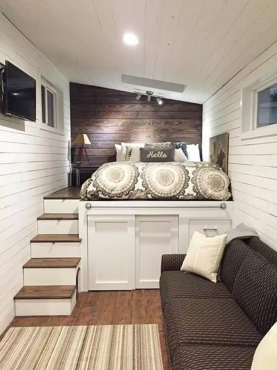 学建筑的你怎么能甘心自己的卧室和别人一样!!!_1