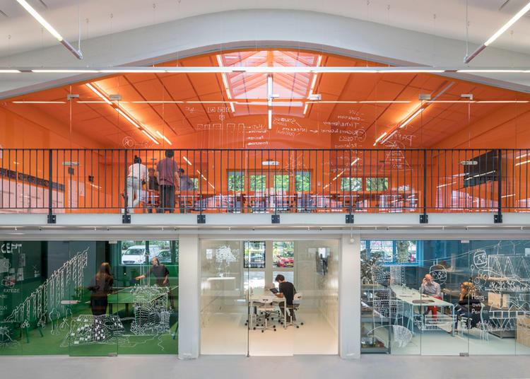 建筑师给自己设计的办公室,什么样的都有_8