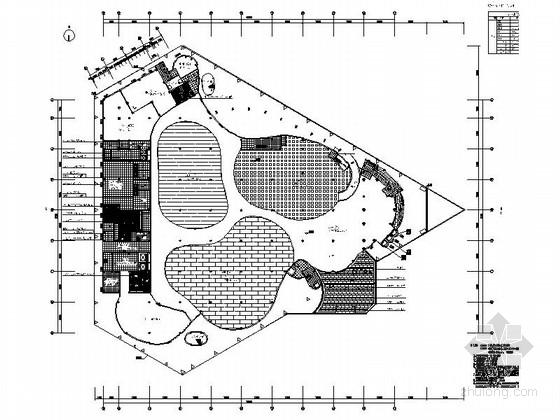 [上海]中国园林博览会主展馆施工图