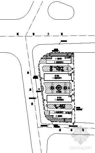 一小区总体规划平面图