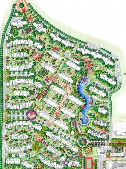 [武汉]小区局部区域景观设计方案