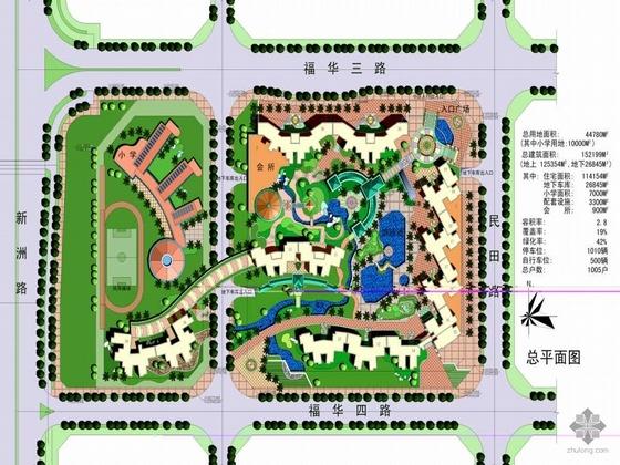 [深圳]某中心区城建集团住宅方案设计文本(文本、手绘及室内效果图)