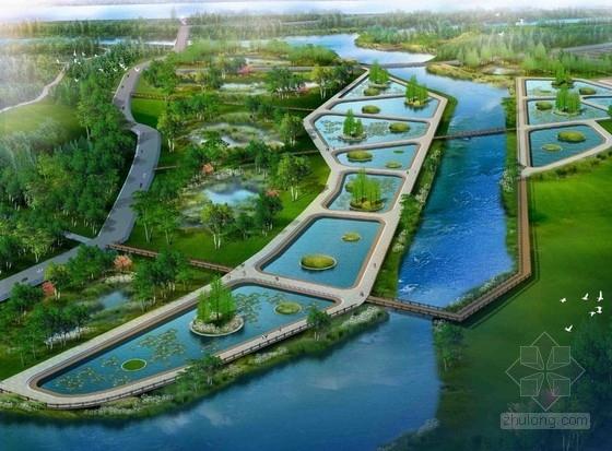 [河北]潮白河滨河公园景观概念设计方案