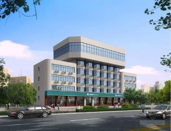 [河南]现代风格白色调面砖外墙改造城市综合体建筑设计方案文本