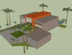 现代建筑别墅CAD图资料免费下载