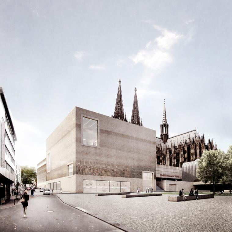 建筑事务所Staab Architekten公布德国科隆历史中心设计方案
