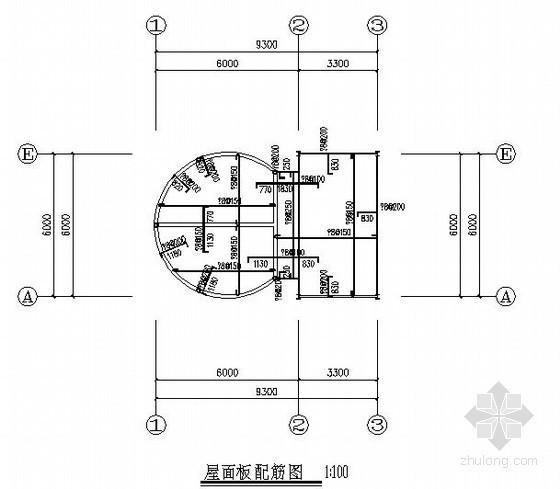 [德州]单层钢框架结构门卫室结构施工图