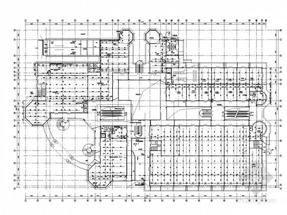 [上海]商业广场建筑给排水施工图