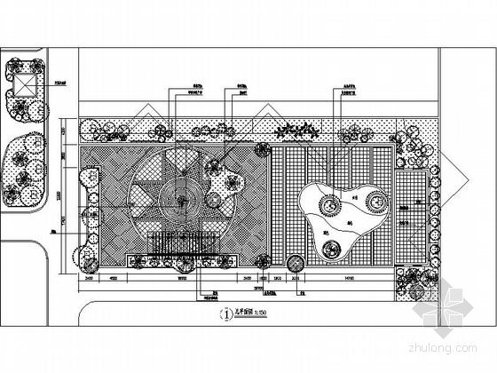 [陕西]居住小区中心广场改造设计方案