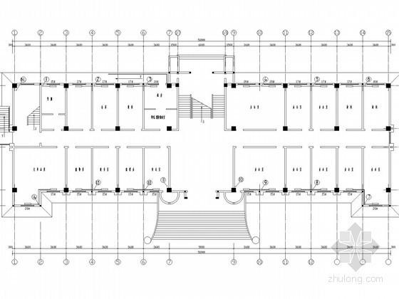 多层小型办公楼散热器采暖系统设计施工图