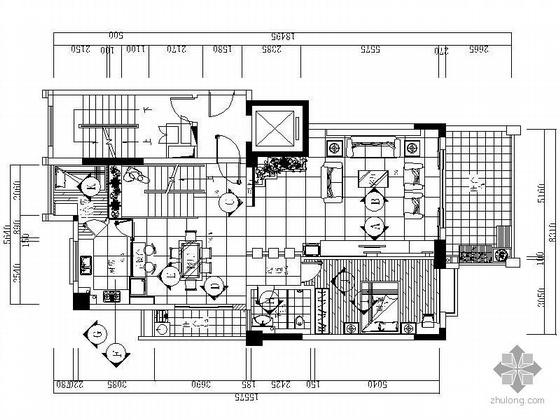 [汕头]某复式楼设计装修图