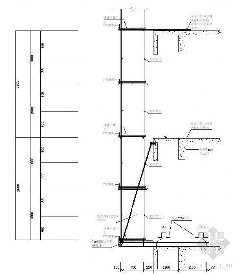 南宁某高层综合楼外脚手架施工方案